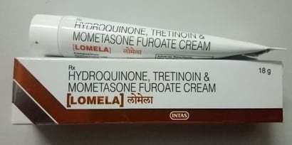 Hydroquinone, Tretinoin & Mometasone Furoate Cream
