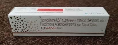 Hydroquinone Usp + Tretinoin Usp + Fluocinoione Acetonide Tropical Cream