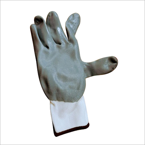 Rubber Cotted Hand Gloves