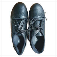 Leather PVC Sole Safety Shoes