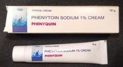 Phenytoin Sodium 1% Cream
