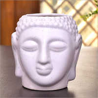 Ceramic Buddha Flower Pot