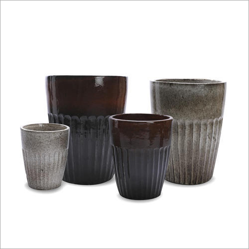 Outdoor Ceramic Flower Pot