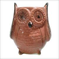 Owl Shape Ceramic Flower Pot