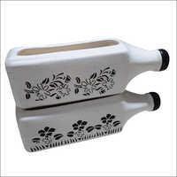 Bottle Shape Ceramic Flower Pot