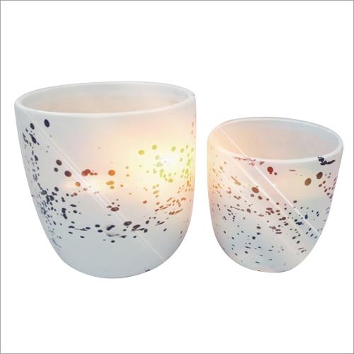 2 Piece Ceramic Kulhar Bonsai Pot