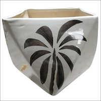 Indoor Angle Box Ceramic Pot