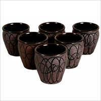 Ceramic Kulhar Bonsai Pot