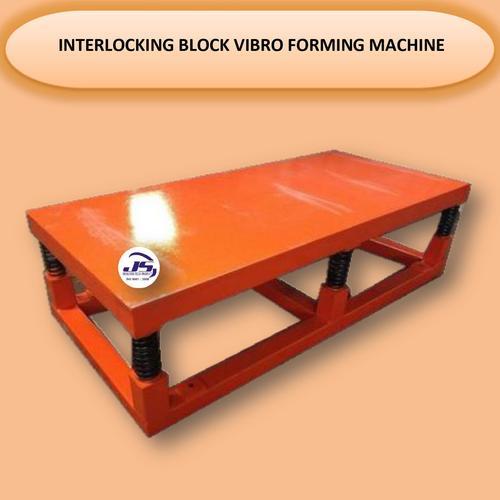 Interlocking Block Vibro Forming Machine