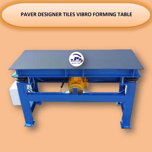 Paver Designer Tiles Vibro Forming Table