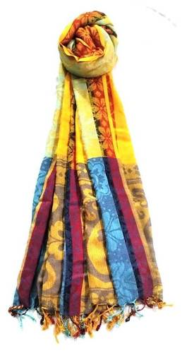 Rayon Printed Fringes Shawls