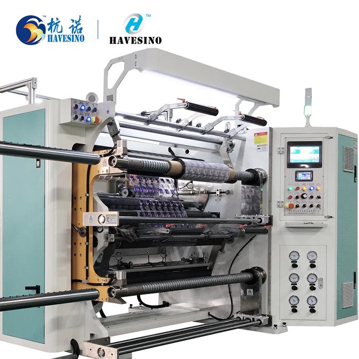 Duplex Slitter Rewinder Machine For BOPP OPP CPP PET OPA LDPE Film
