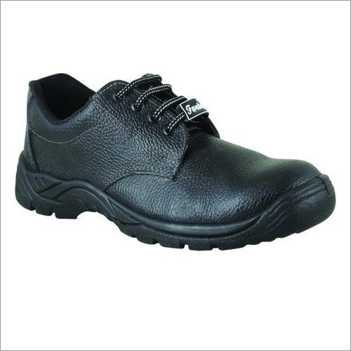 Fortune Black A To Z Safety PU Sole Safety Shoes