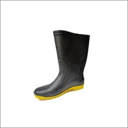Fortune 20-20 Black and Yellow Safety Gumboots