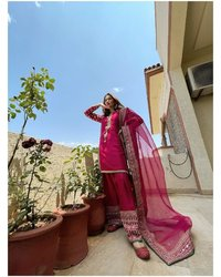 EMBROIDERED &  GEORGETTE DRESS COLEECTION