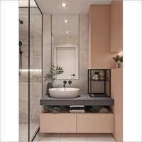 Corner Vanity Cabinets