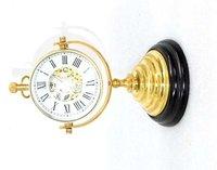 Brass Mechanical Table Clock