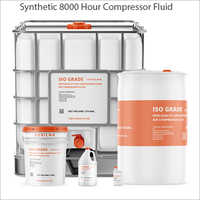 Synthetic 8000 Hour Compressor Fluid