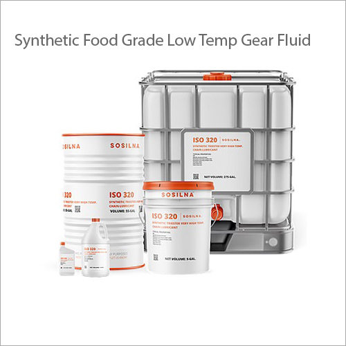 Synthetic Food Grade Low Temp Gear Fluid