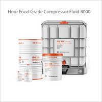 8000 Hour Food Grade Compressor Fluid