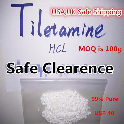 99% Purity Tiletamine HCl Powder Factory Supply