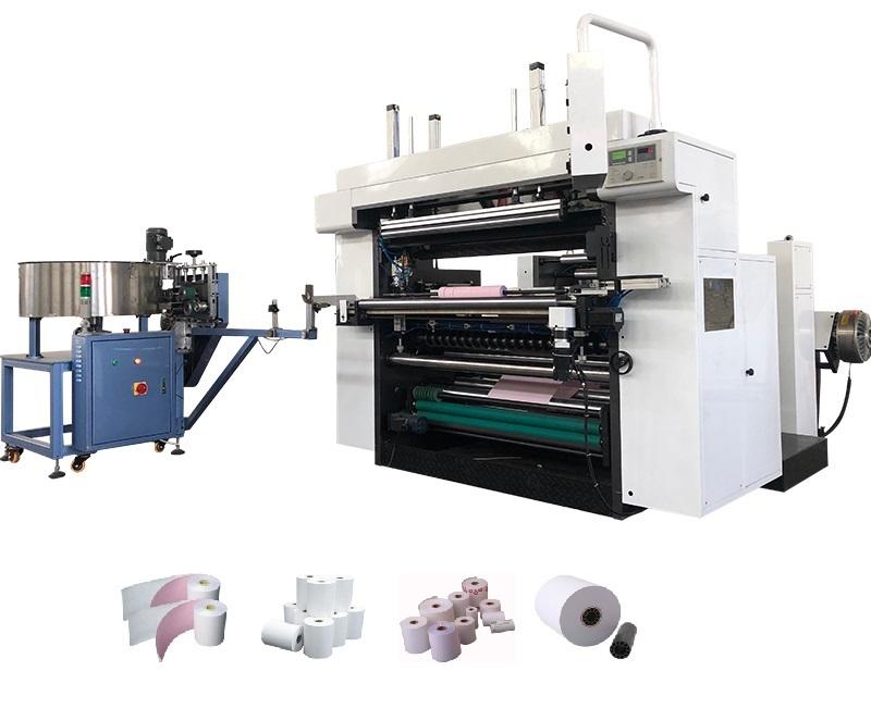 POS Roll Slitter Rewinder Machine CP-S1100AW