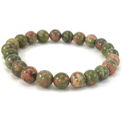 Prayosha Crystals  Unakite Bracelet
