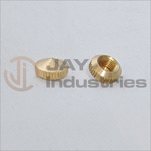 Brass Knurled Components