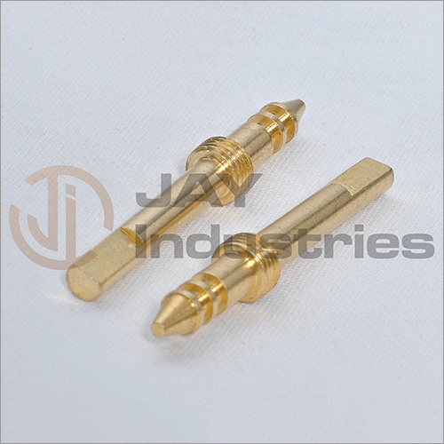 Brass Slotted And Threaded Pin