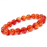 Prayosha Crystals Carnelian Bracelet