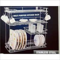 Multi Purpose Steel Kitchen Rack