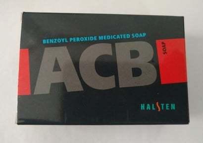 Benzoyl Peroxide Medicated Soap