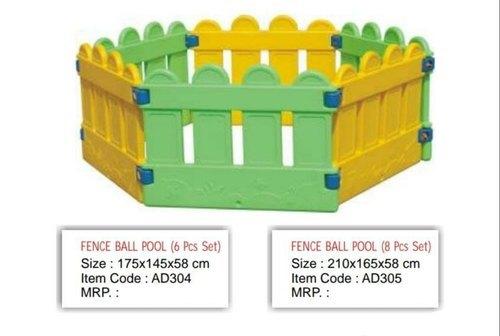 6 Piece Fence Ball Pool Set