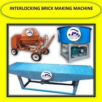 Interlocking Brick Making Machine