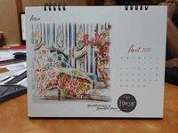 Customized table calendars