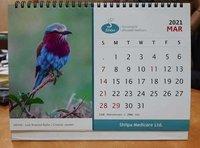 Customized desk calendars