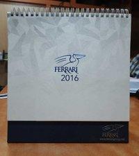 Customized printed calendars
