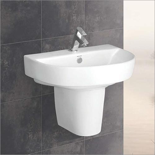 Copper Series Half Pedestal Wash Basin
