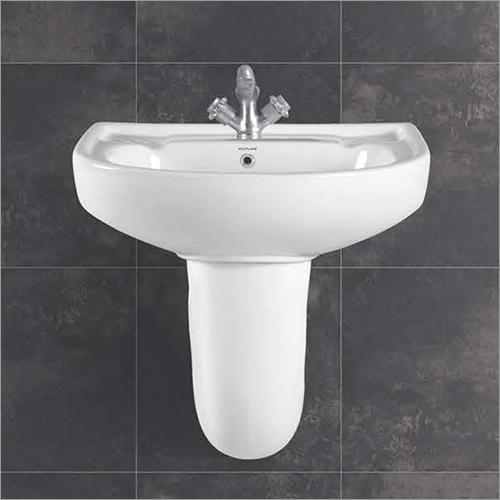 Roma Series Half Pedestal Wash Basin