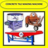 CONCRETE TILE MAKING MACHINE
