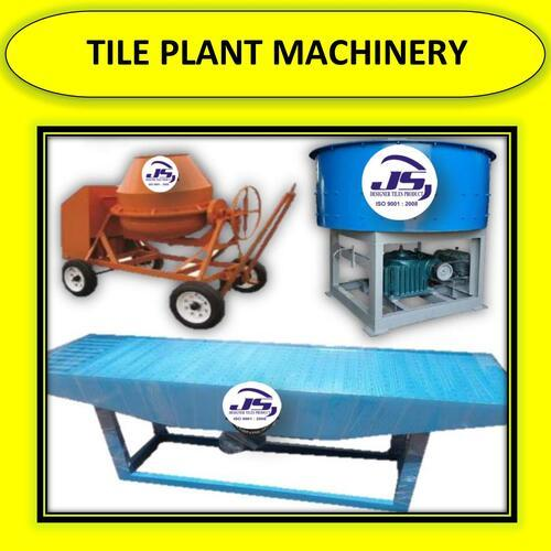 Tile Plant Machinery