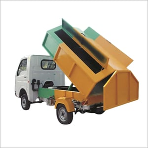 Truck Mounted Garbage Tipper