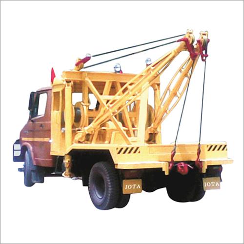 Truck Mounted Wrecker Crane