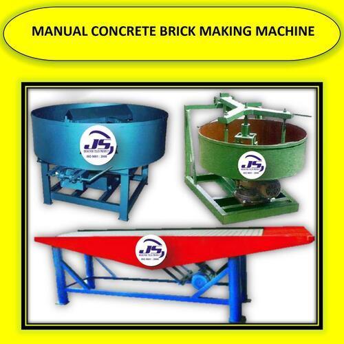Manual Concrete Brick Making Machine