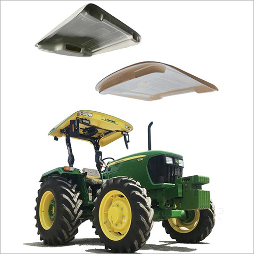 Yellow Tractor Canopy