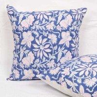Block Print Cotton Cushion Cover