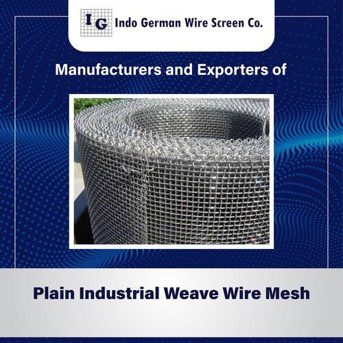 Plain Industrial Weave Wire Mesh