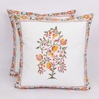 Sanganeri Block Print  Handmade Cushion Cover