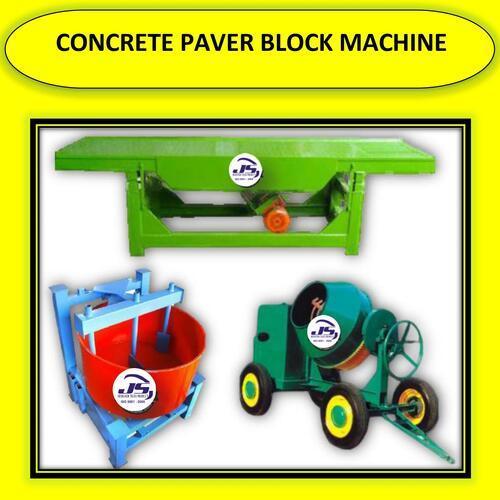 Concrete Paver Block Machine