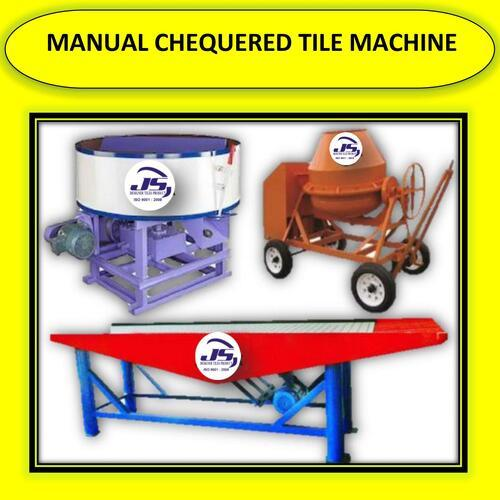 MANUAL CHEQUERED TILE MACHINE